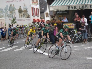 tour de france going through saint marie