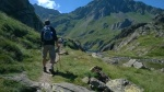Climbing to Lac Bleu